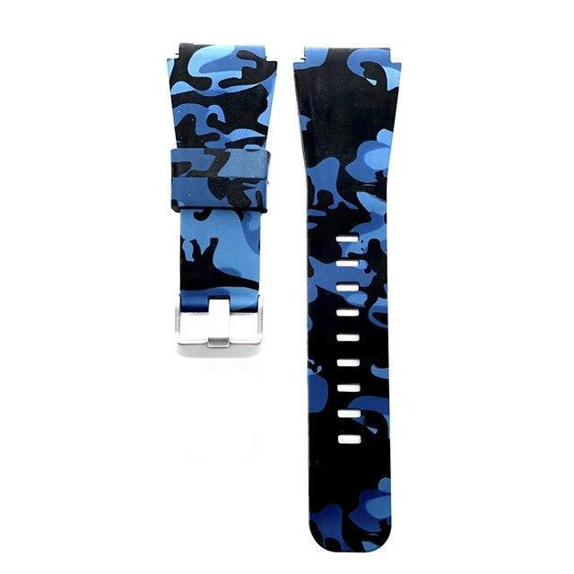 Camouflage silicone strap for Samsung Gear S3 Frontier / Classic