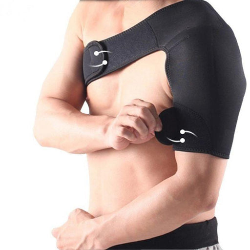 Supporting tread shoulder of breathable