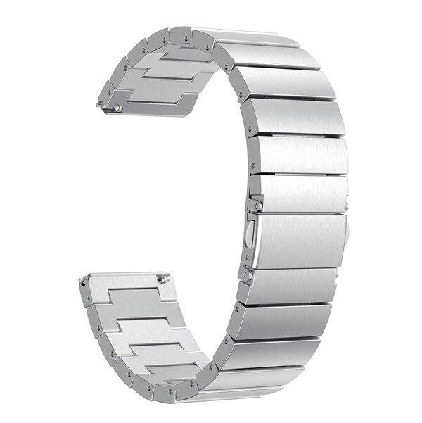 Luxury metal strap stainless steel watch for Fitbit Versa