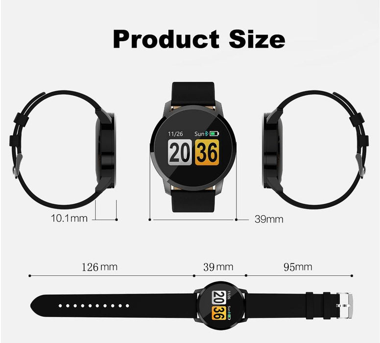 Vektros V8 Smart Watch, Waterproof, Sleep Monitoring, Heart Rate, Steps, Blood pressure
