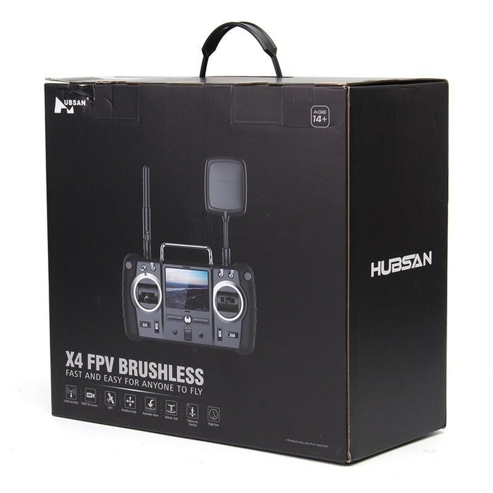 Drone Hubsan H501S X4 Pro 5.8G FPV with brushless motors and camera 1080P HD, GPS RTF mode tracking