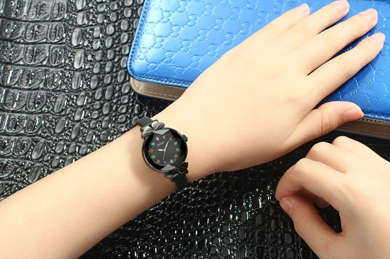 Waterproof ladies' quartz watch JULIUS 627