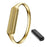Steel cylindrical bracelet for Fitbit Flex 2