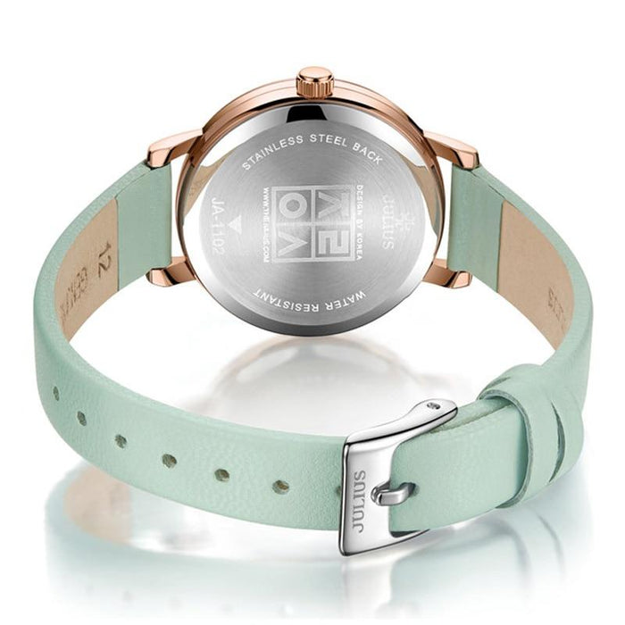 Waterproof ladies' quartz watch JULIUS 1101