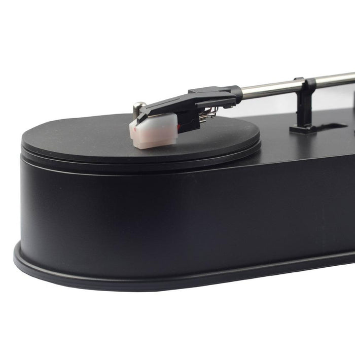 USB portable mini vinyl record player, MP3 / WAV / CD player