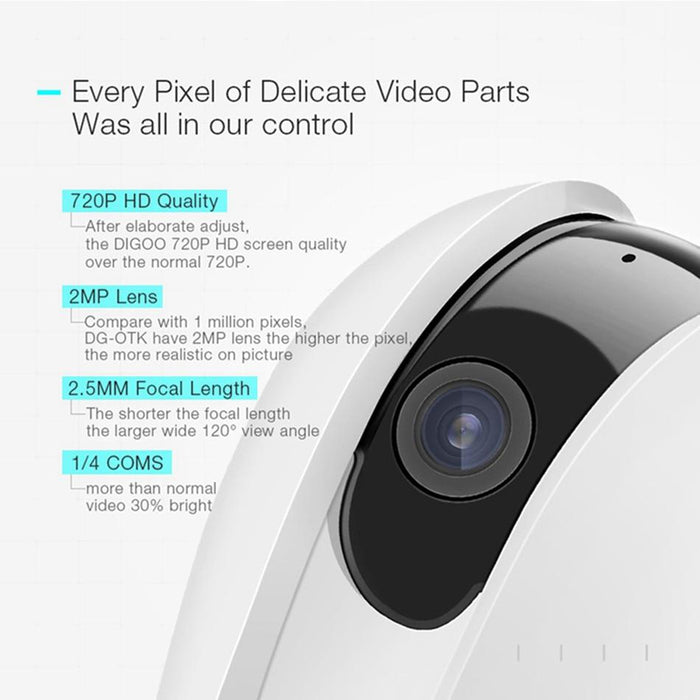IP camera with night vision Digoo DG-OTK 720P 2MP WIFI SD card