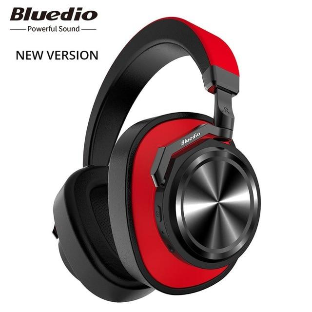 Wireless headphones Bluedio T6 Bluetooth 5.0, ANC, Foldable