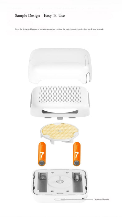Xiaomi Mijia repellent against mosquitoes and insects for external use, portable