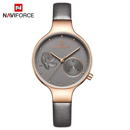 Waterproof ladies' quartz watch NAVIFORCE 5001