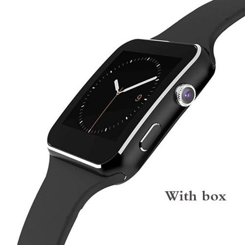 Smart watch X6, SIM card, Camera, Android