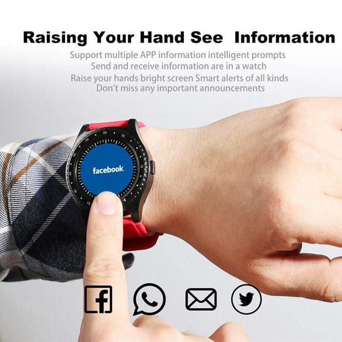 Smart watch L9 camera, SIM card, steps Monitoring sleep