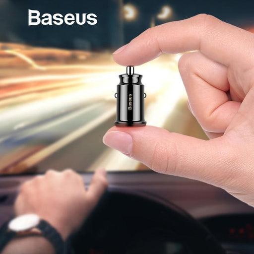 Smart mini USB car charger Baseus 3.1A Fast Charge