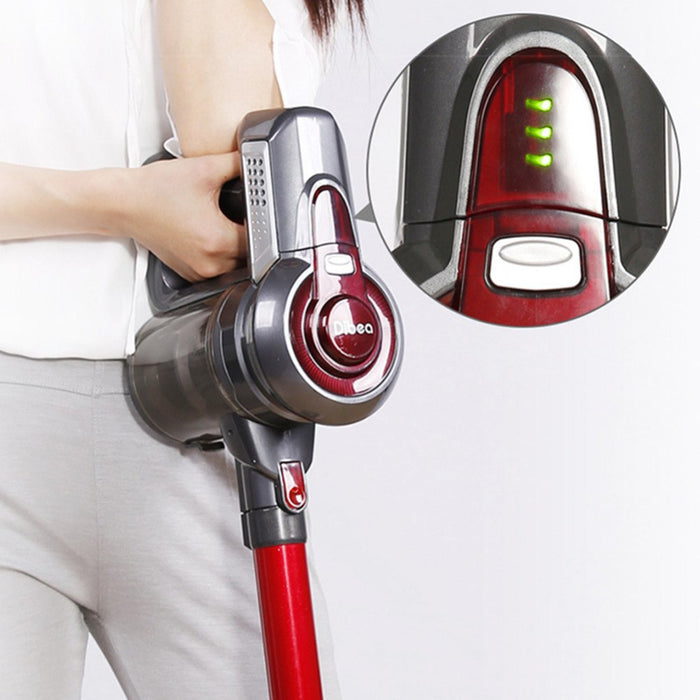 Dibea T6 Cordless Vacuum Cleaner with Docking Station and Container, 7kpa Suction