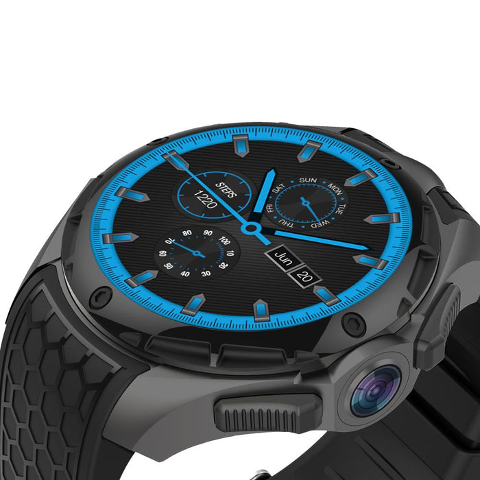 Smart Watch Kingwear Vektros KW68 IP68 Waterproof, SIM card, Android 7.0, iOS, Quad Core, 2.0 MP, GPS
