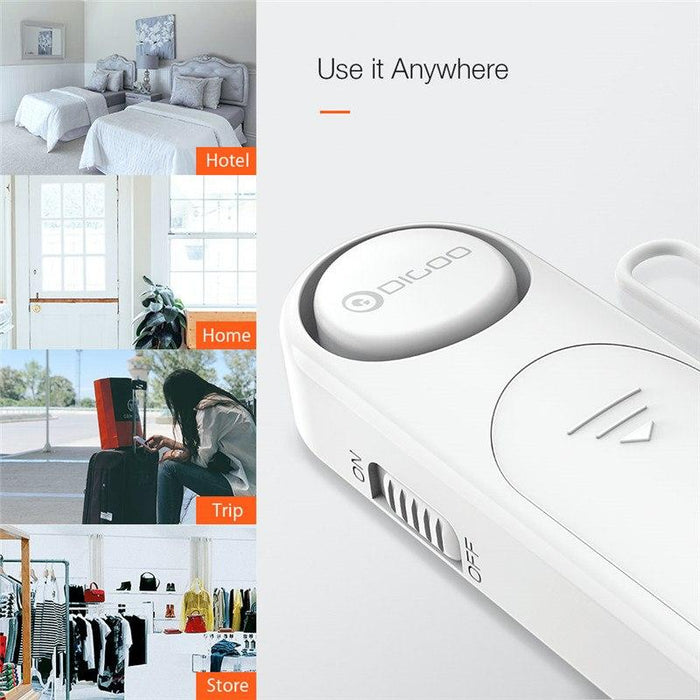 Personal sensor for door and window alarm DIGOO DG-TA01, mini, portable