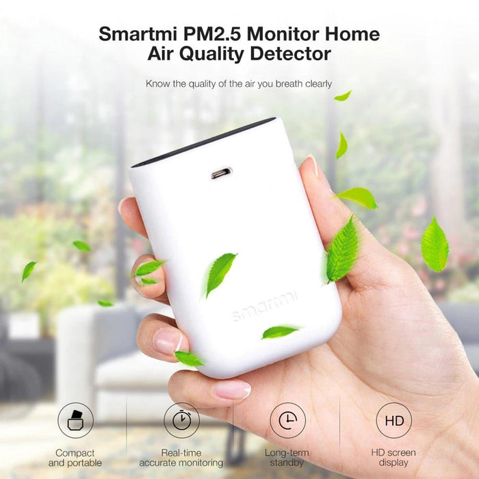 Xiaomi Smartmi PM2.5 mini laser detector air quality with LED screen