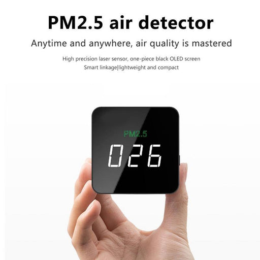Mini PM2.5 detector air quality with LED screen