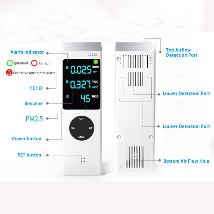 Homesek - infrared detector monitor air quality, particulate matter, PM2.5, formaldehyde