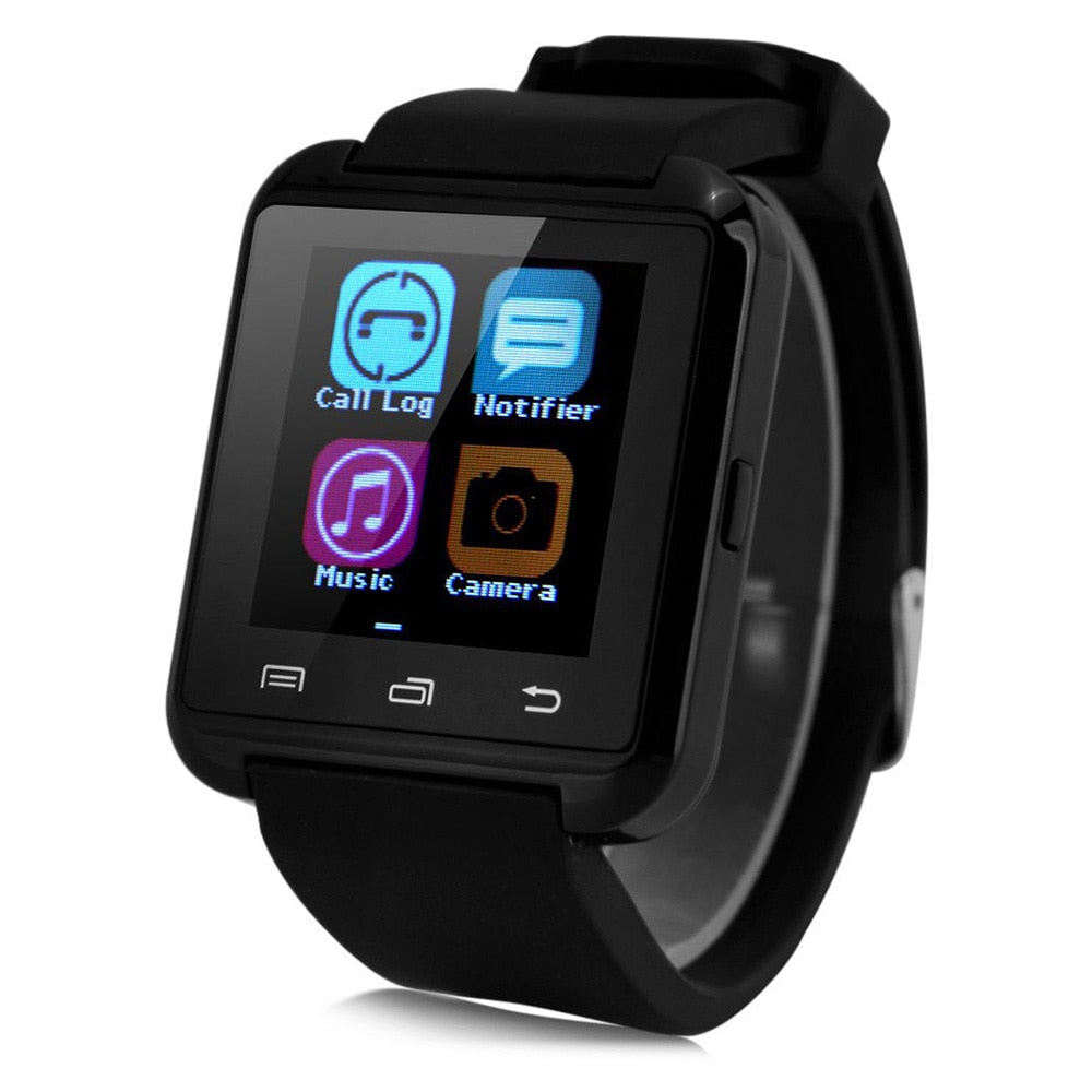 Portable Smartwatch U8 Bluetooth 3.0 Wearable Wristband Dial Call Fitness Tracker Music Player