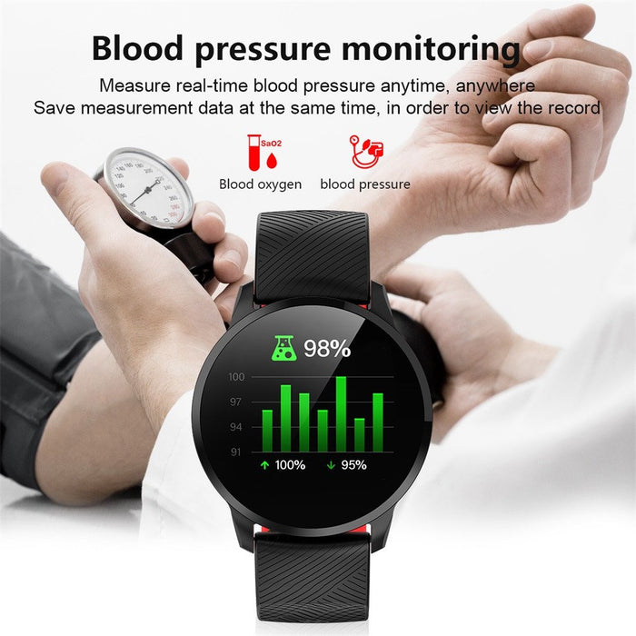 Smart Fitness Watch Vektros S16 Heart Rate, Blood Pressure, Pedometer, Sleep monitor