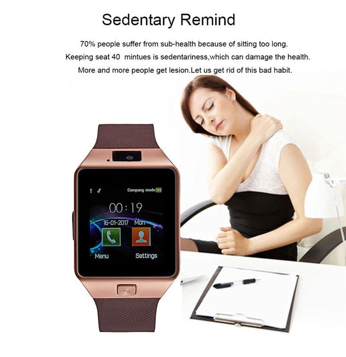 Smart watch DZ09 Bluetooth SIM, SD card
