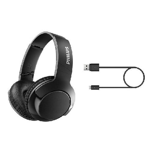Philips SHB3175BK Wireless Bluetooth headset, 40 mm membranes