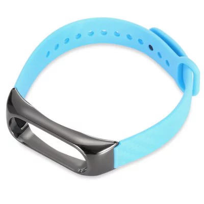 Strap of a thermoplastic elastomer with the metal body to Xiaomi Mi Band 2