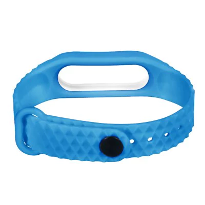 Blue white strap of thermoplastic elastomer for Xiaomi Mi Band 2