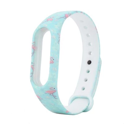 """Flamingo"" strap of thermoplastic polyurethane Xiaomi Mi Band 2"