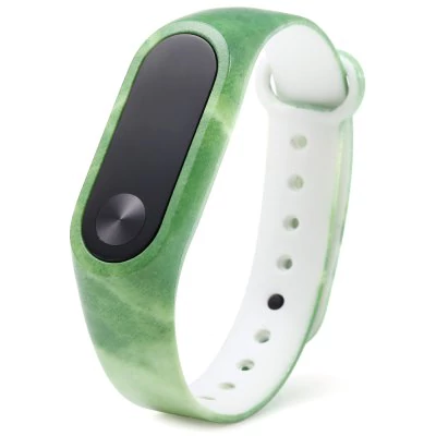 Green strap of thermoplastic polyurethane Xiaomi Mi Band 2
