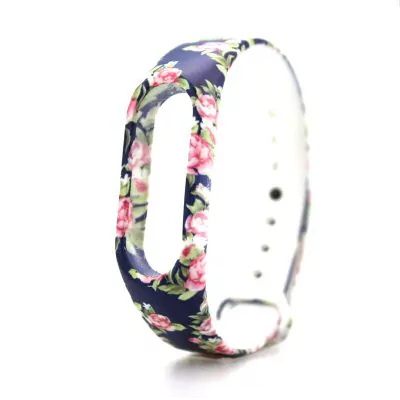 Rose strap of thermoplastic polyurethane Xiaomi Mi Band 2