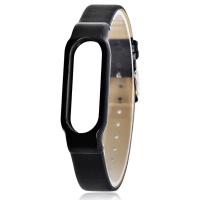 Ultrathin leather strap Xiaomi Mi Band 2
