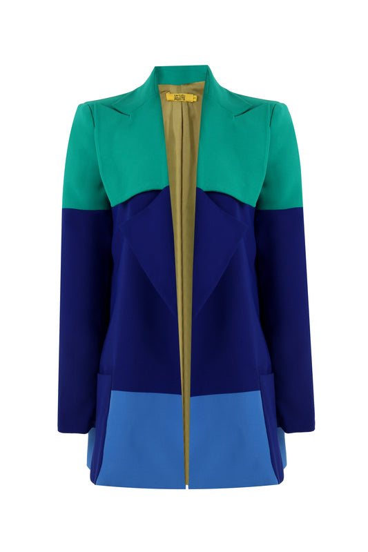 MR&MRS - COLOR PALETTE JACKET DRESS