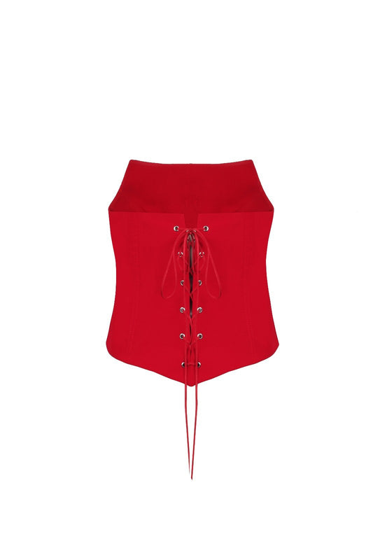 Dragonfly Red Bustier