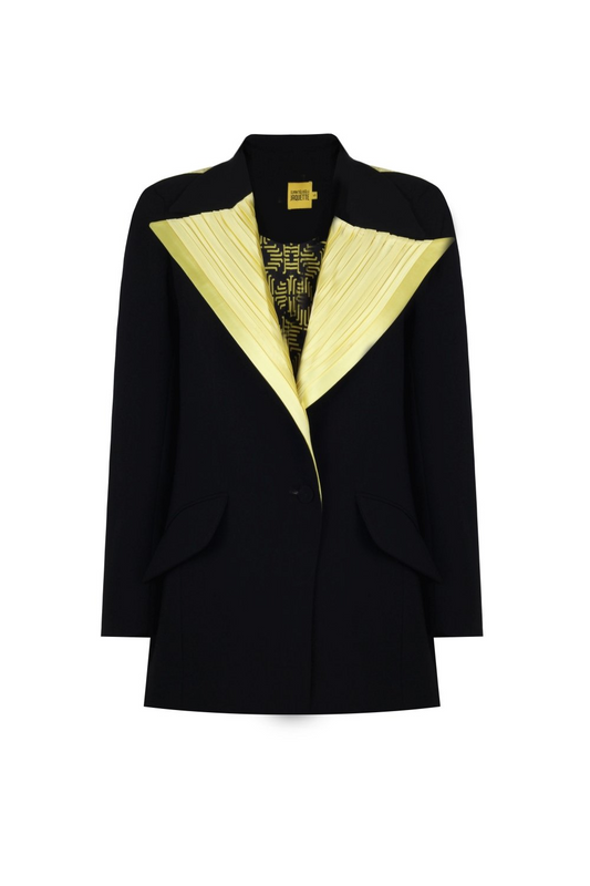 YELLOW COLLAR JACKET