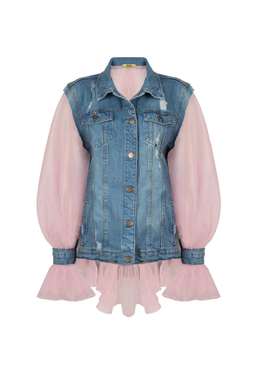ORGANZE JEAN JACKET