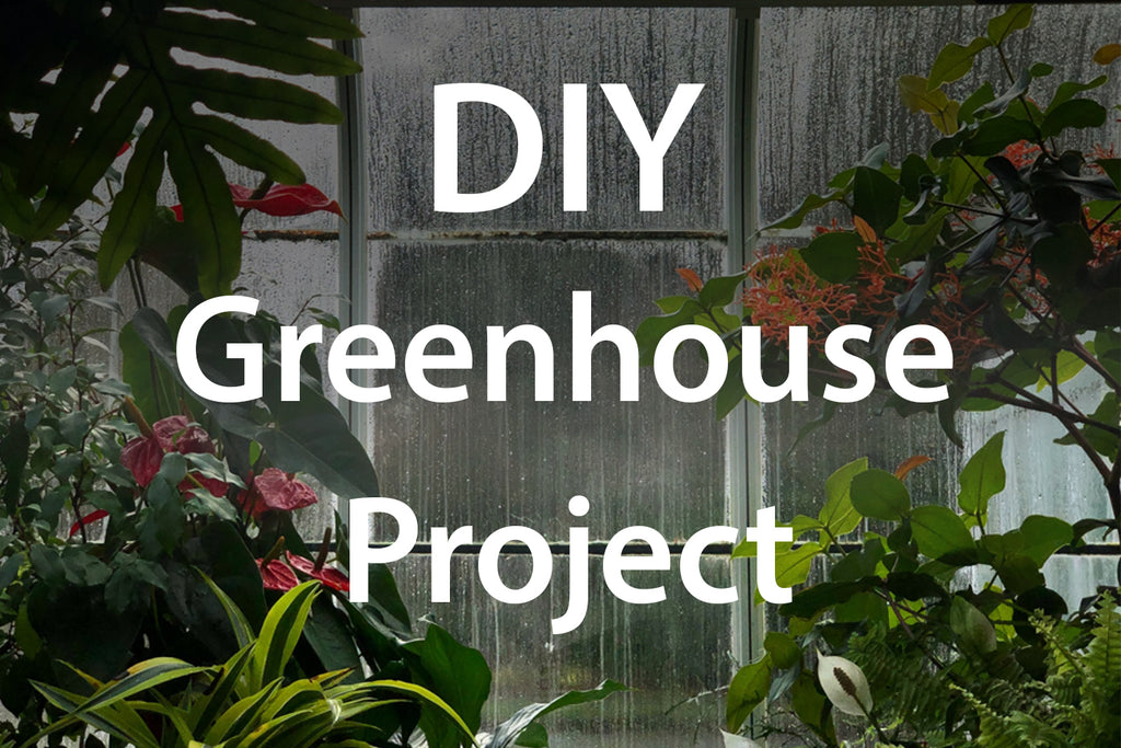 DIY greenhouse project