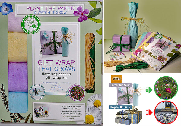 Growing Gift Wrap