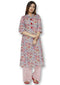 Bombay Diva Women's Printed Kurta And Palazzo Ethnic Set