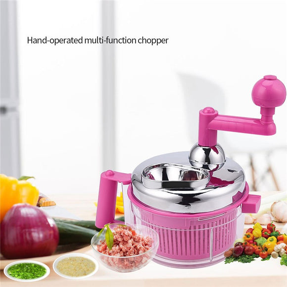 Manual Food Chopper Large Capacity Kitchen Cutter
