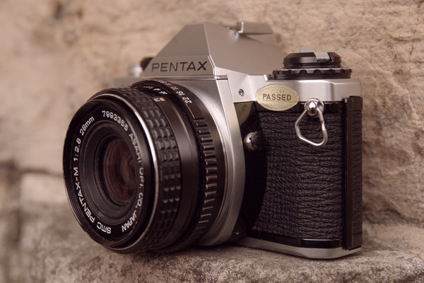 Pentax me super film Camera