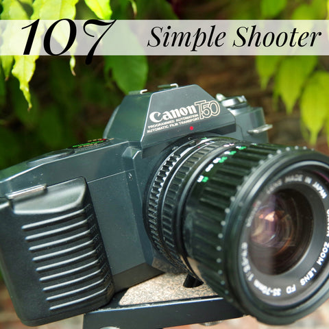 #107 - Canon T50 + Canon 35-70mm Zoom