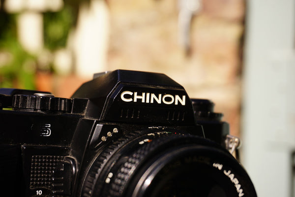 #112 - Chinon CG5 + Chinon 50mm f1.9