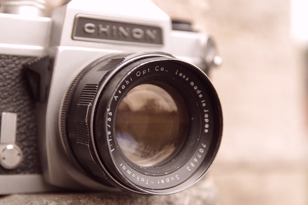 #56 - Chinon CS + Pentax Takumar 55mm f1.8