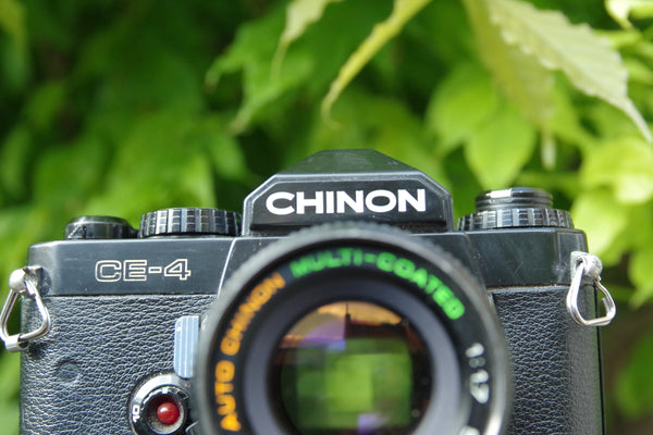 #100 - Chinon CE4 & Chinon 50mm f1.7