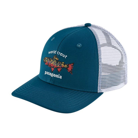 World Trout Brook Fishstitch Trucker Hat - Patagonia