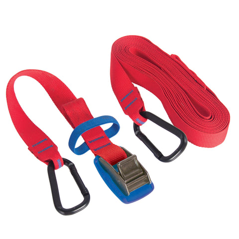Carabiner Tie Down Straps - Sea to Summit