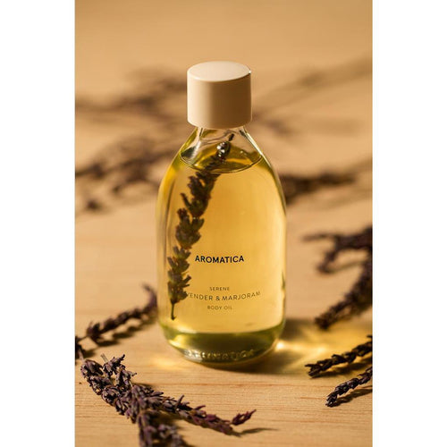 aromatica Serene Lavender and Marjoram Body Oil - BESTSKINWITHIN