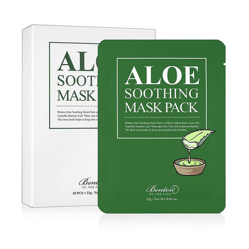 BENTON Aloe Soothing Mask Pack - BESTSKINWITHIN