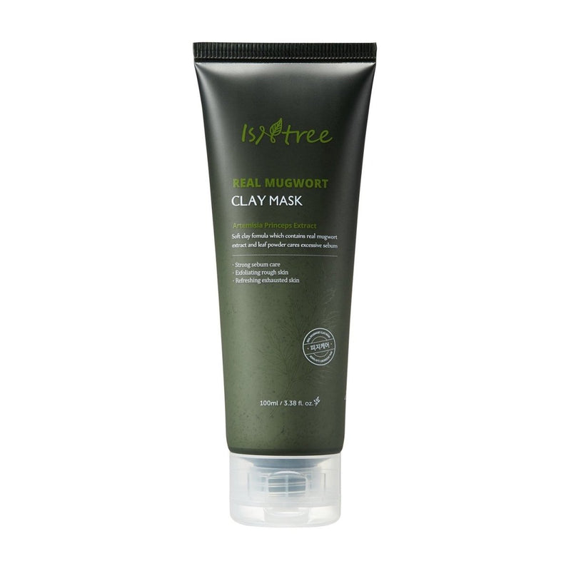 ISNTREE REAL MUGWORTH CLAY MASK 100 ML - BESTSKINWITHIN